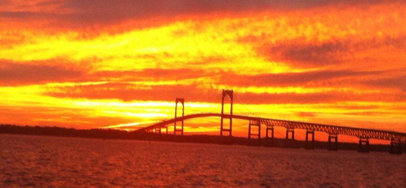 Sunset sail in Newport