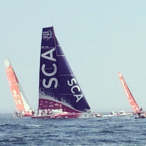 Volvo Ocean race in Newport