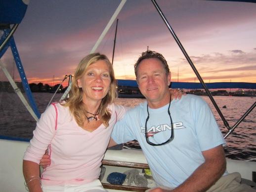 Sail with Kia and Al on their catamaran charter