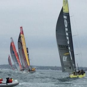 Volvo Ocean race viewing from AlyKat