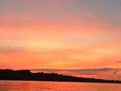 Jamestown sunset viewed from AlyKat