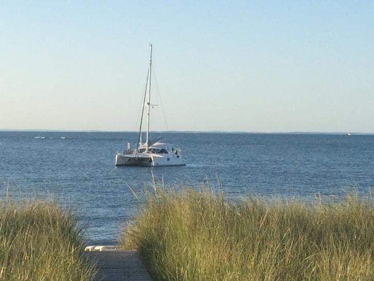 Great sail to Montauk on AlyKat.