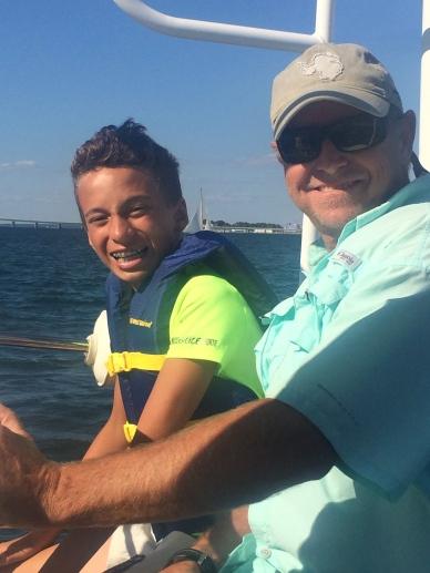 Captain Al loves to teach sailing