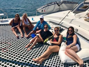 Sailing charter birthday