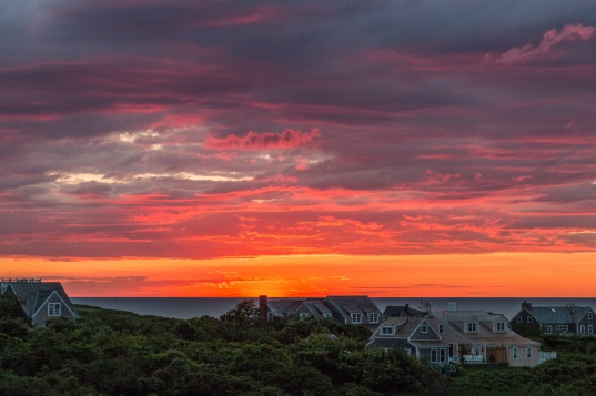 Sunrise over Nantucket
