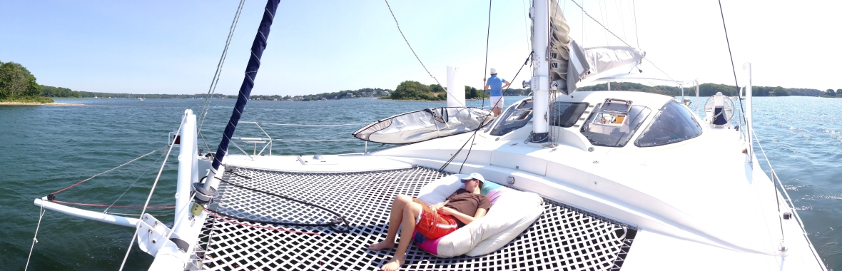 There's so much you can do on a sailing charter.