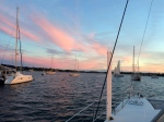 Newport Harbor post sail