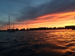 Sunset in Newport Harbor