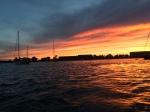 Sunset in Newport Harbor