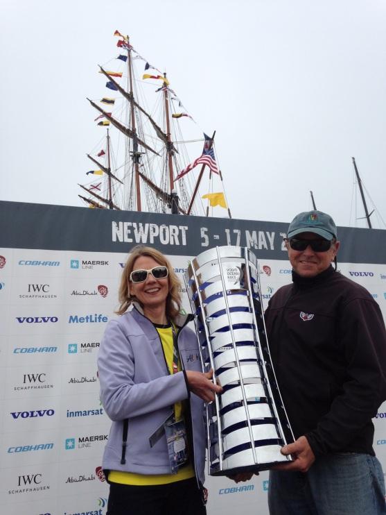 Volvo Ocean Race trophy