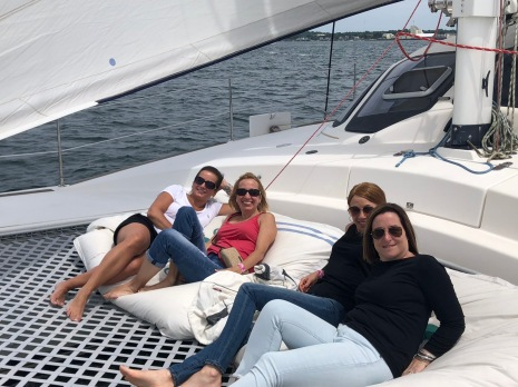 Wednesday catamaran sail