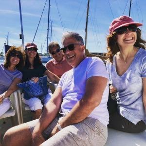 Ready for a catamaran sail