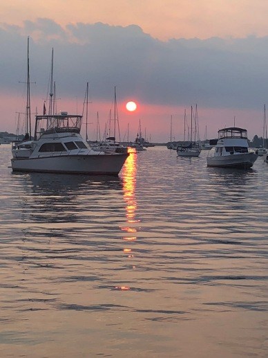 Block Island anchorage