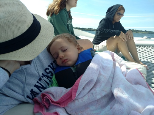 Catamaran nap
