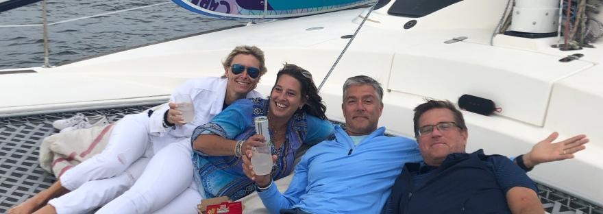 Catamaran outing